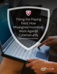 Tilting the Playing Field How Misaligned Incentives Work Against Cybersecurity