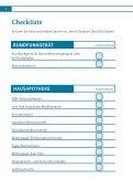 Checkliste - Seite 5