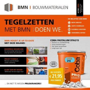 BMN krant - tegelzetten met bmn > doen we. Uitgave april 2017