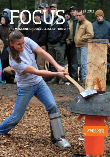 Fall 2012 - College of Forestry - Oregon State University