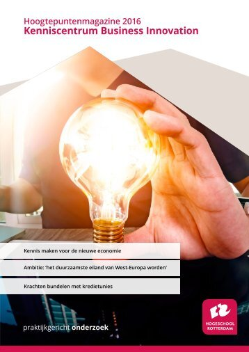 Hoogtepuntenmagazine Business Innovation