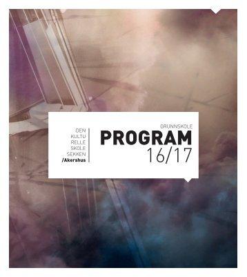 Katalog for grunnskolen 2016/17