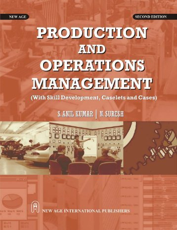 Production and Operations Management : With Skill Development ...