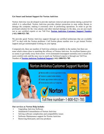 Get_Smart_and_Instant_Support_for_Norton_Antivirus in USA