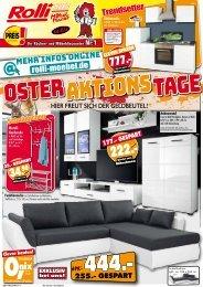 Rolli SB-Möbelmarkt in 65604 Elz: Oster-Aktions-Tage!!