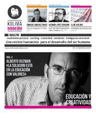 KOLIMA EMOCION Magazine Mes de Marzo