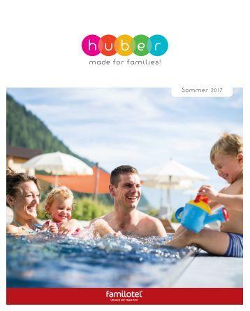 Sommerkatalog Familyhotel Huber in Vals/Südtirol