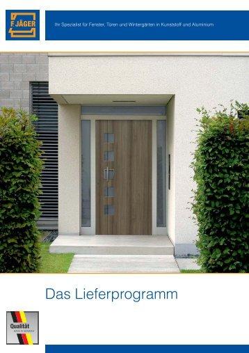 Das Lieferprogramm - Franz Jäger GmbH