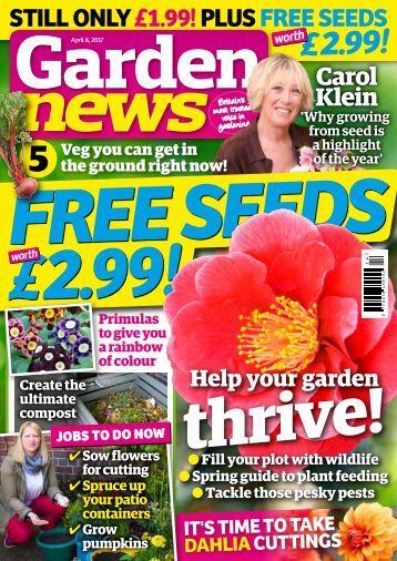Garden News Digital Sampler
