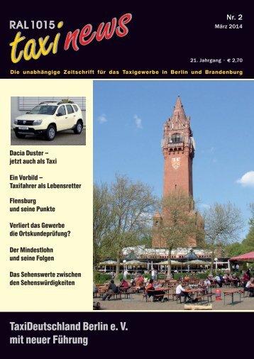 RAL 1015 taxi news Heft 2-2014