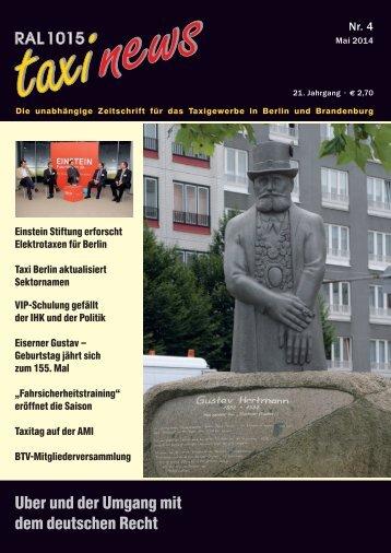 RAL 1015 taxi news Heft 4-2014