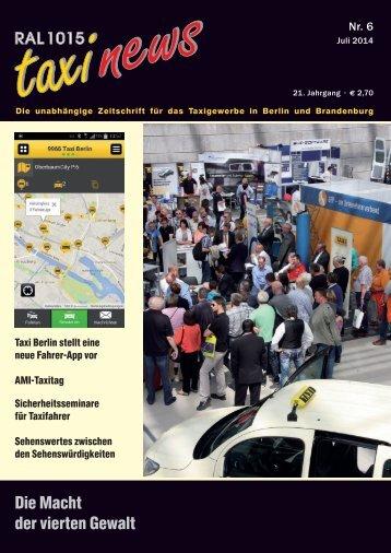 RAL 1015 taxi news Heft 6-2014