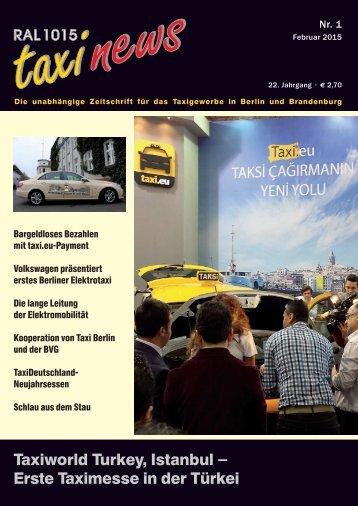 RAL 1015 taxi news Heft 1-2015