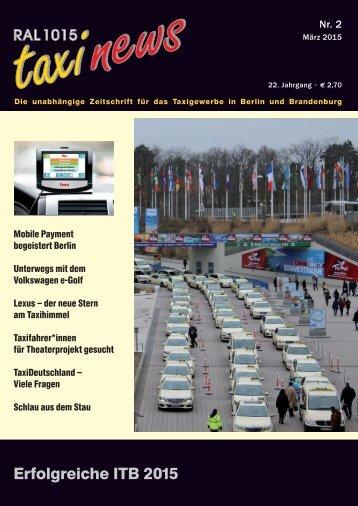 RAL 1015 taxi news Heft 2-2015
