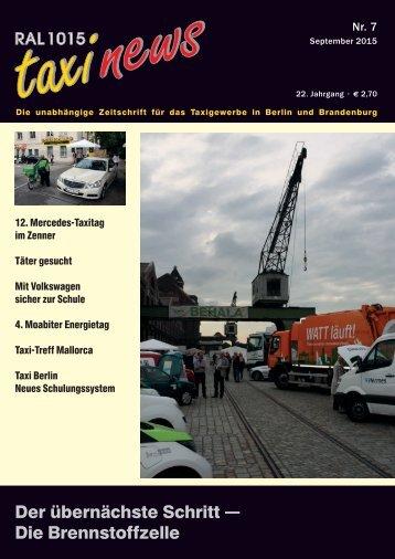 RAL 1015 taxi news Heft 7-2015