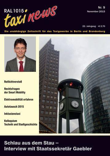 RAL 1015 taxi news Heft 9-2015