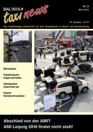 RAL 1015 taxi news Heft 2-2016