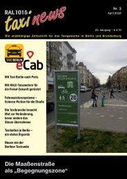 RAL 1015 taxi news Heft 3-2016