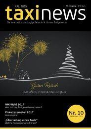 RAL 1015 taxi news Heft 10-2016