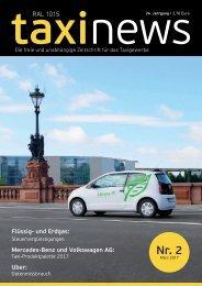 RAL 1015 taxi news Heft 2-2017