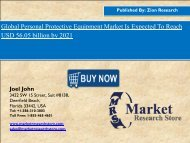 Personal Protective Equipment Market,2015-2020