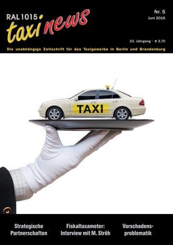 RAL 1015 taxi news Heft 5-2016