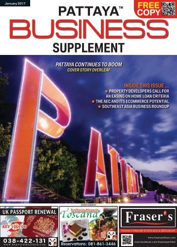 Pattaya Business Supplement - Jan 2017
