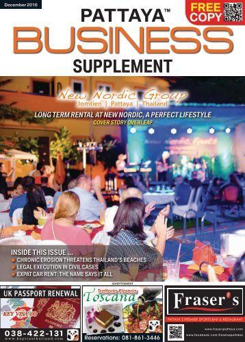 Pattaya Business Supplement - Dec 2016