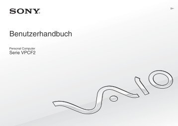 Sony VPCF24N1E - VPCF24N1E Mode d'emploi Allemand