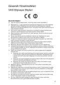 Sony VPCF24N1E - VPCF24N1E Documents de garantie Turc - Page 5