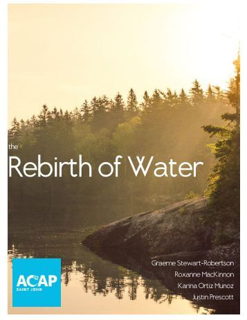 Rebirth of Water Report 2016-2017