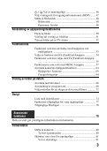 Sony SLT-A65VL - SLT-A65VL Consignes d'utilisation Suédois - Page 3