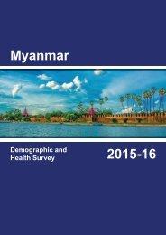 Myanmar 2015-16