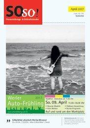 SOso! April Ausgabe