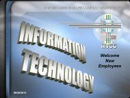 Information Technology - Moraine Valley Community College