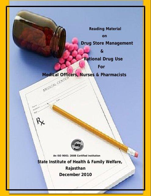 Drug Store Management Rational Drug Use For     - SIHFW