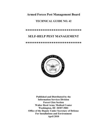 Technical guide 20 armed forces pest management board armed forces pest management board technical guide no 42 sciox Choice Image