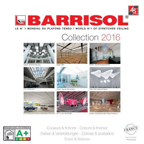Barrisol Barricouleur - Catalog CULORI
