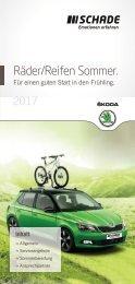SCHADE Räder/Reifen Sommer ŠKODA