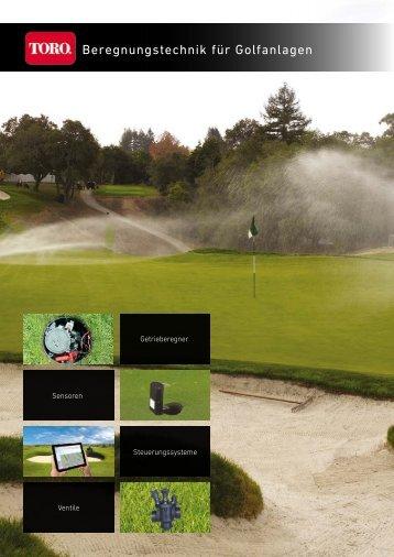 Beregnungstechnik für Golfanlagen