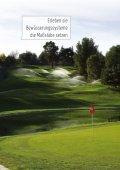 Beregnungstechnik für Golfanlagen - Seite 4