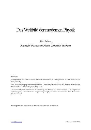 Weltbild Physik