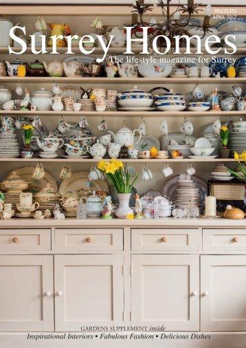 Surrey Homes   SH30   April 2017  Gardens supplement inside