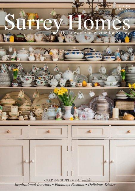 Surrey Homes | SH30 | April 2017 |Gardens supplement inside