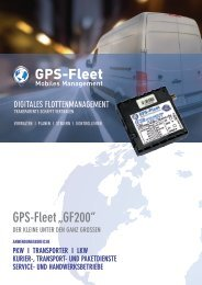 GPS-Fleet GF200 Datenblatt