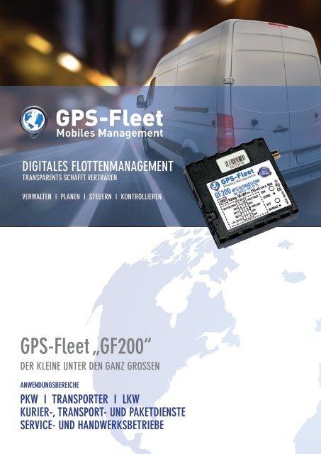 GPS-Fleet GF200 Datenblatt