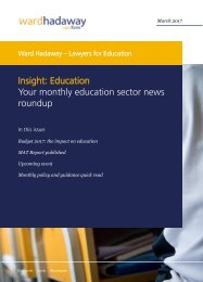 Insight Education Your monthly education sector news roundup