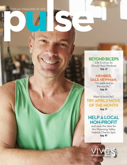 VIVE Health and Fitness Pulse - April (prospects)