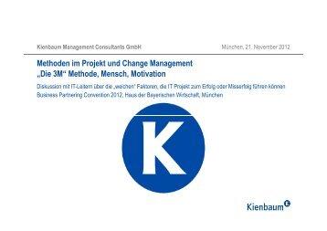 Methoden im Projekt- und Change-Management - partnering