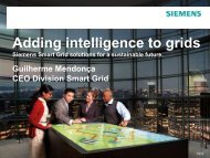 Adding intelligence to grids Siemens Smart Grid solutions for a - Fiesp